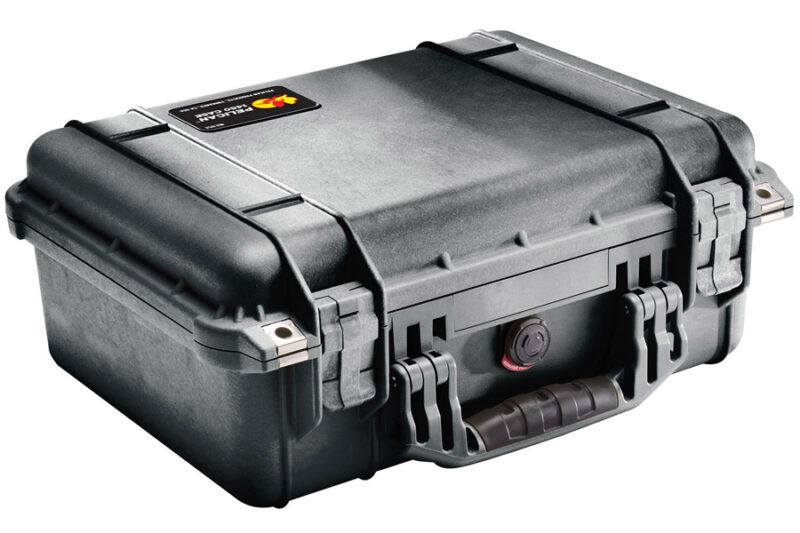 Pelican-Cases-Protector--Case-1450-black